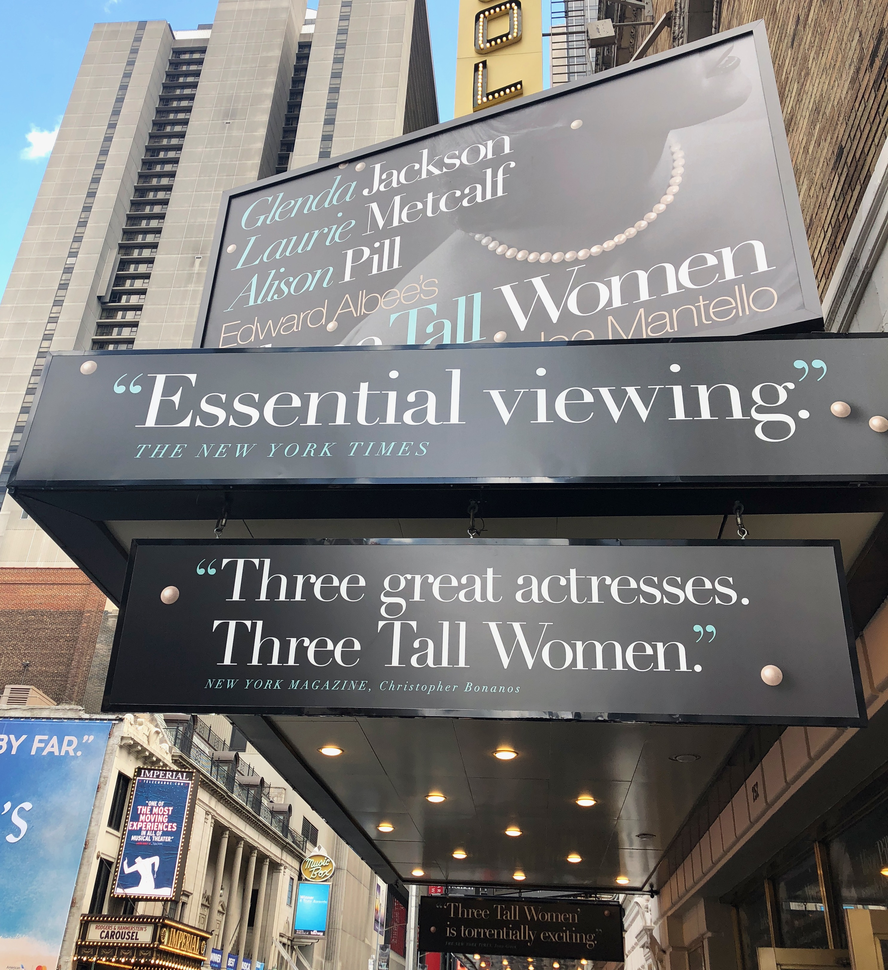Albee's Three Tall Women on Broadway