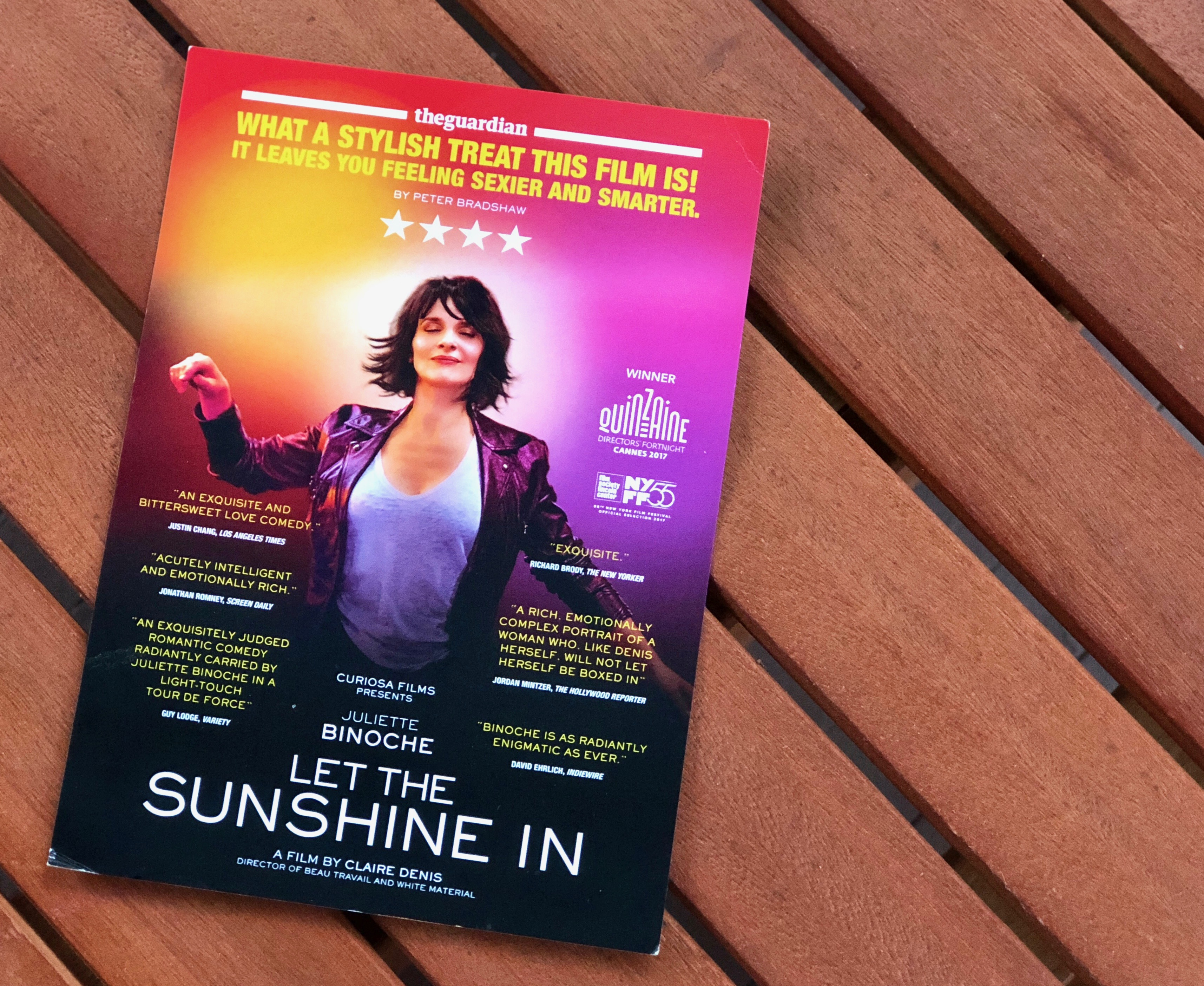 Let the Sunshine and Juliette Binoche in