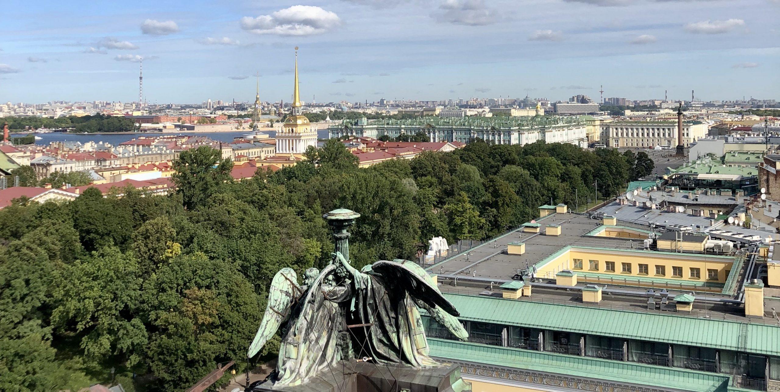 Trip to Russia. Day 9. Saint Petersburg. Along Nevsky Prospect to Vasilyevsky Island