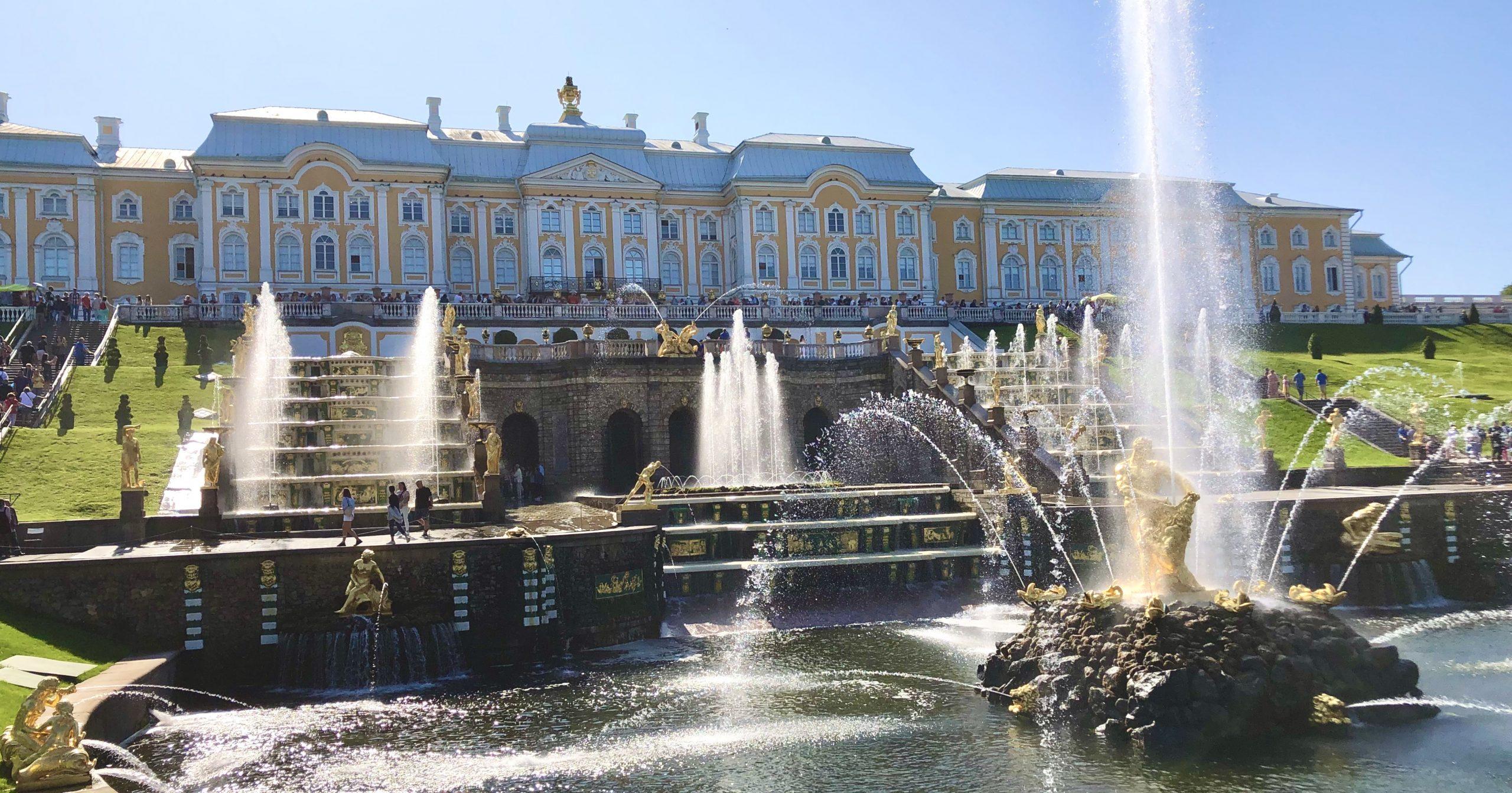 Trip to Russia. Day 10. Saint Petersburg. Peterhof. Hermitage